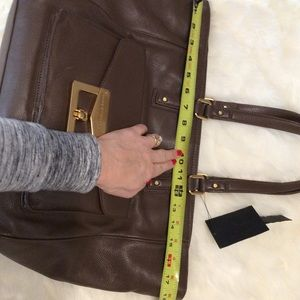 Marc by Marc Jacobs Brown Leather Tote Bag XL